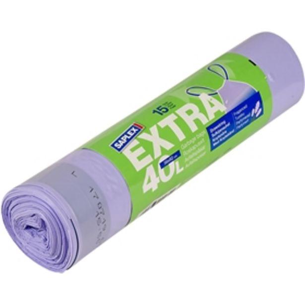 Avfallspåsar Saplex Extra för 25 kr