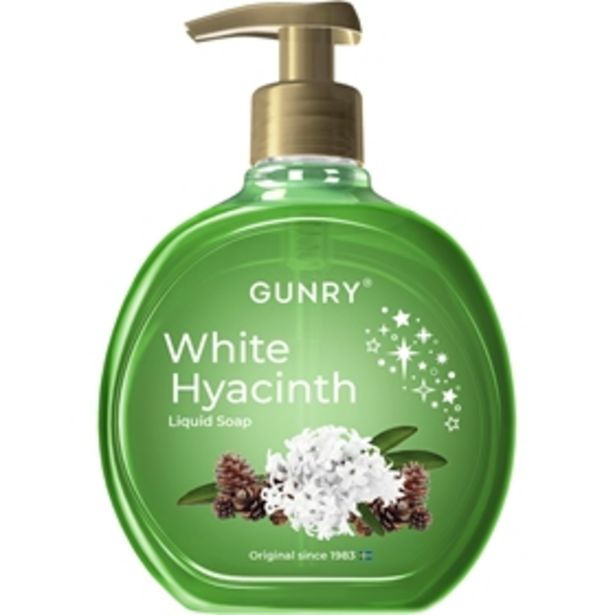 Flytande tvål Gunry White Hyacinth för 10 kr