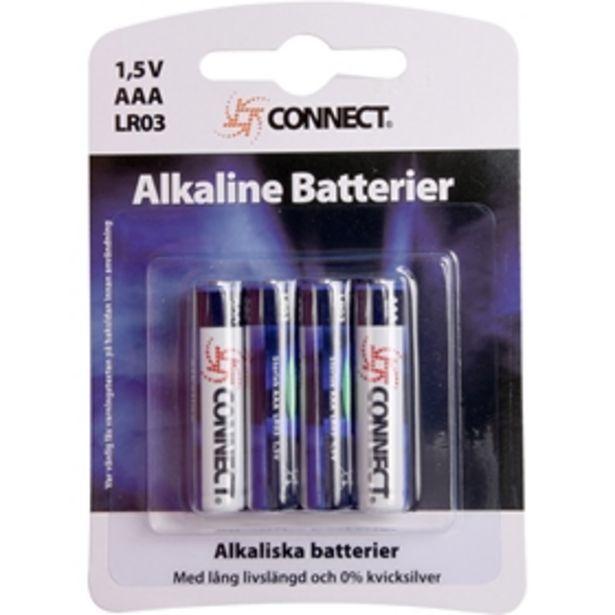 Batteri AAA Connect för 10 kr