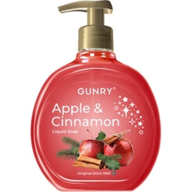 Flytande tvål Gunry Apple & Cinnamon för 10 kr