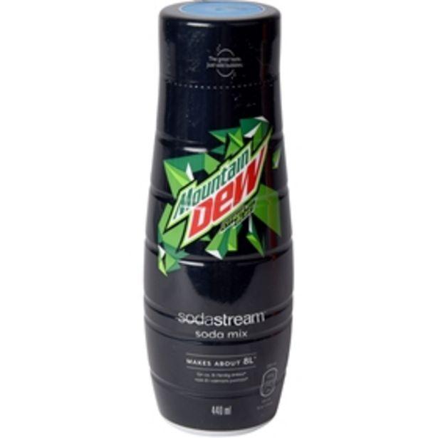 Kolsyresmak Sodastream Mountain Dew för 59 kr