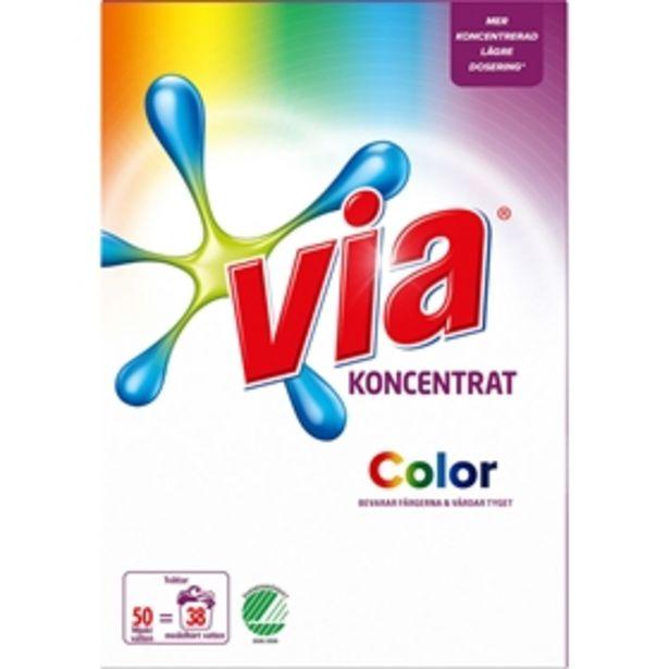 Tvättmedel Via Color för 59 kr