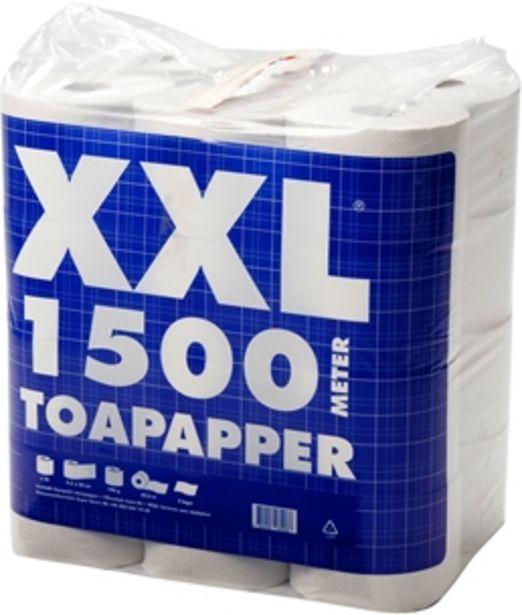 Toalettpapper XXL för 135 kr