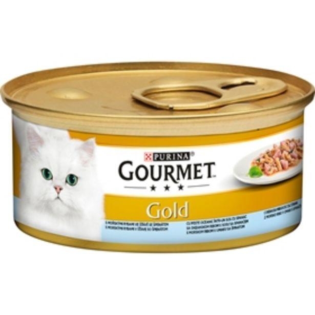 Våtfoder Gourmet Gold Fina Kompositioner Havsfisk för 6 kr