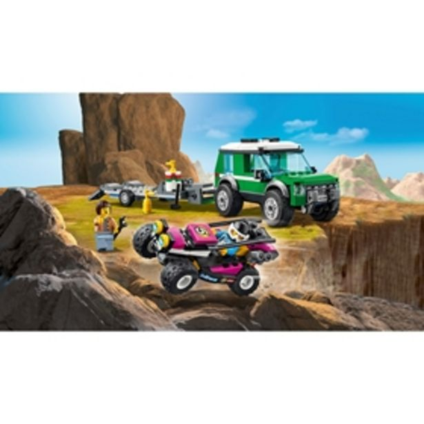 Byggklossar LEGO City Transport med racerbuggy 60288 för 259 kr