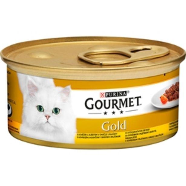 Våtfoder Gourmet Gold Fina Kompositioner Oxkött & Kyckling för 7 kr