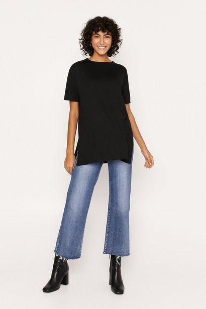 Split Side T-shirt för 10 kr