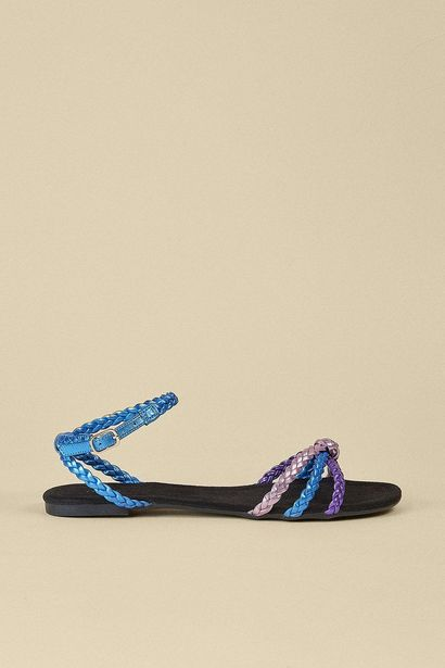 Plaited Knot Detail Sandal för 24 kr