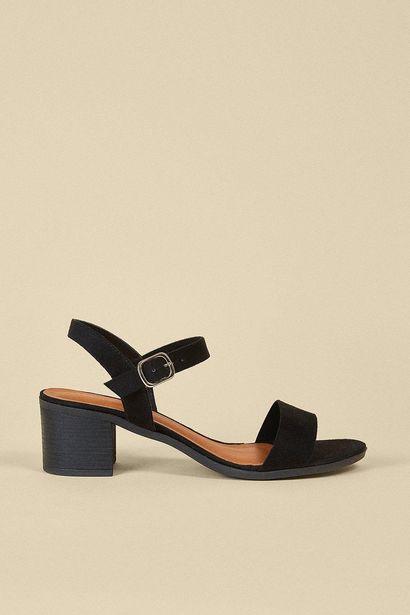 2 Part Heeled Sandal för 26,25 kr