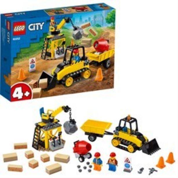 LEGO City Great Vehicles 60252, Bulldozer för 194 kr
