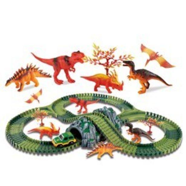 Clixtracks, Dinosauriernas bilbana med 157 delar & 1 bil för 349 kr