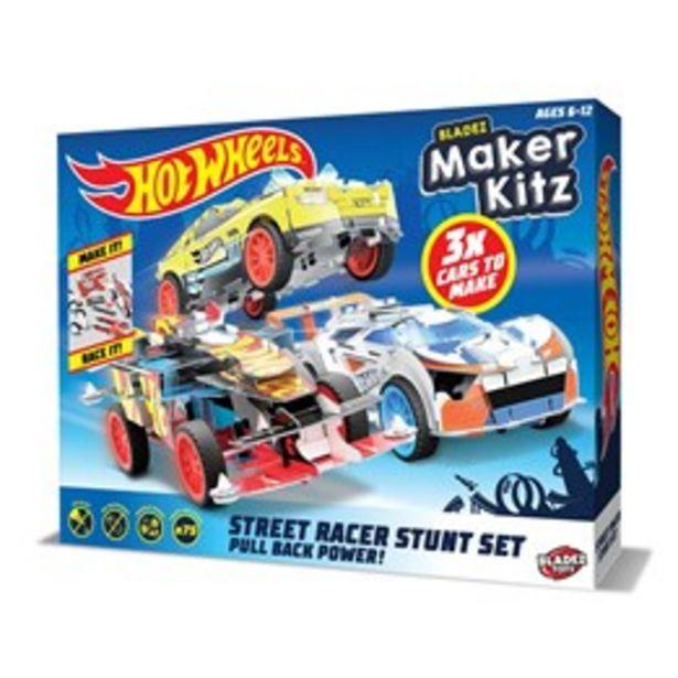 Hot Wheels, Maker kitz 3 pack Pullback bil för 249 kr