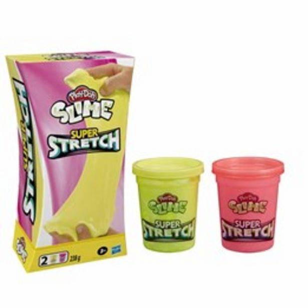 Play-Doh, Super Stretch (Rosa/Gul) för 169 kr