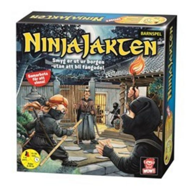 Ninjajakten för 399 kr
