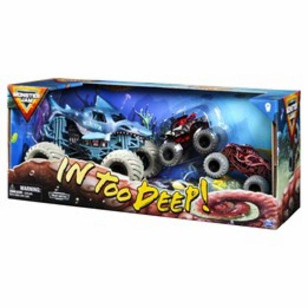 Monster Jam In too Deep 3 pack för 449 kr