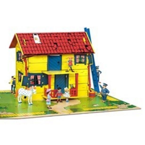 Pippi, Villekulla med lekplatta för 549 kr
