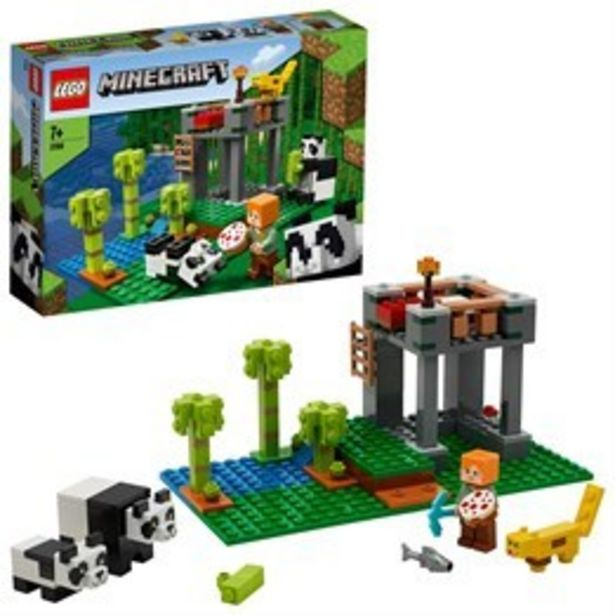 LEGO Minecraft 21158, Pandagården för 194 kr