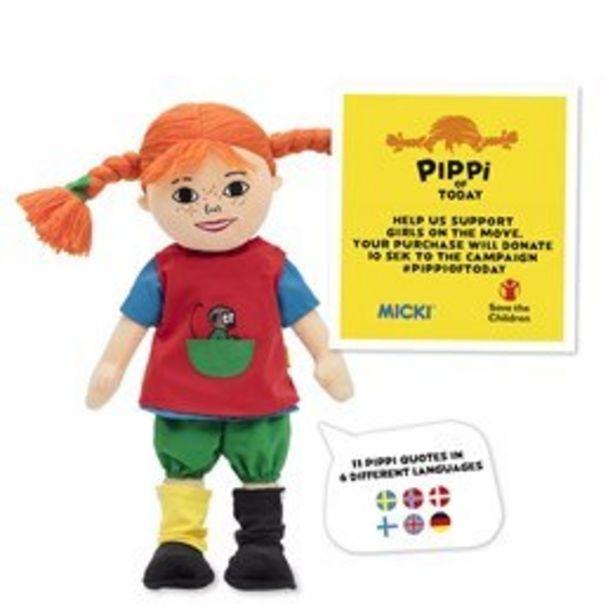 Pippi Taldocka i tyg för 399 kr