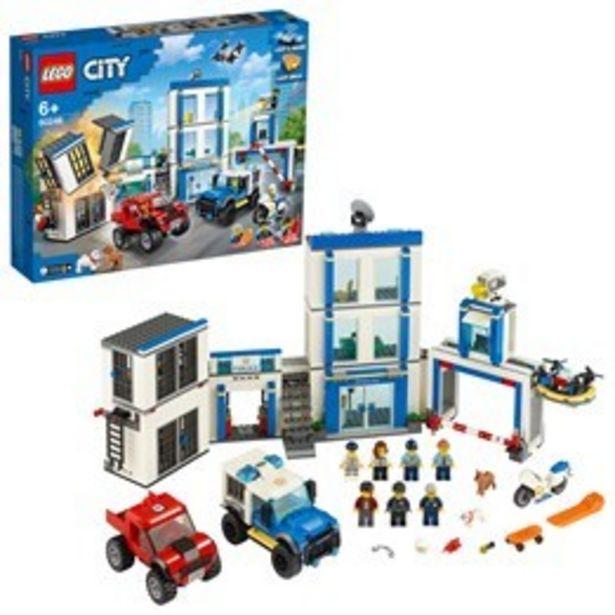 LEGO City Police 60246, Polisstation för 829 kr