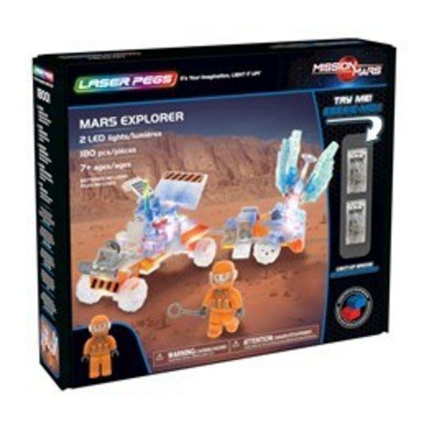 Laser Pegs, Mission Mars Explorer för 99 kr