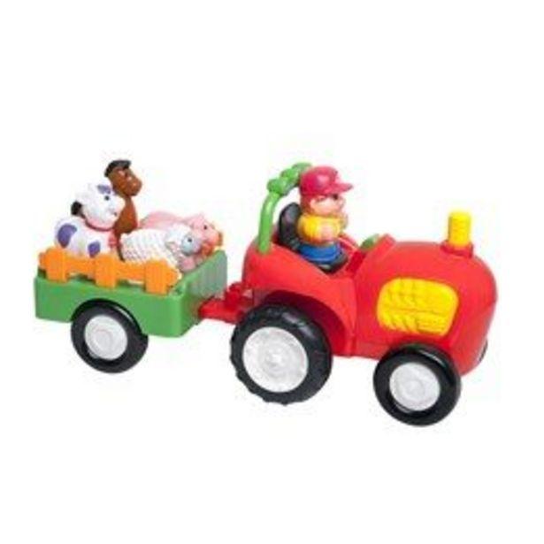 KID, Traktor med släp & bondgårdsdjur för 349 kr