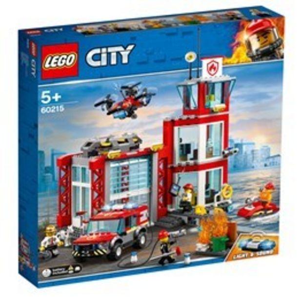 LEGO City Fire 60215, Brandstation för 549 kr