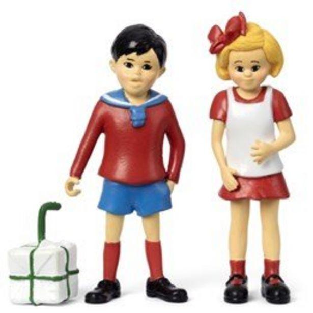 Pippi Långstrump - Tommy och Annika figurset för 149 kr