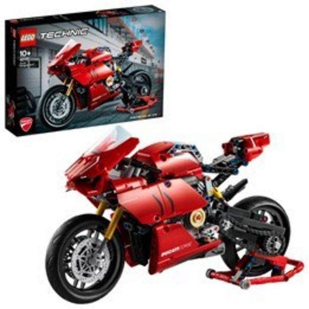 LEGO Technic 42107, Ducati Panigale V4 R för 649 kr