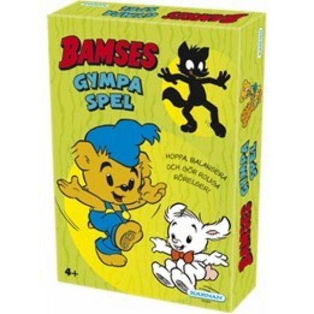 Bamse, Kärnan Bamses Gympaspel för 199 kr