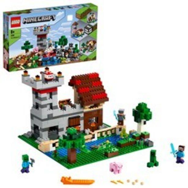 LEGO Minecraft 21161, Skaparlådan 3.0 för 799 kr