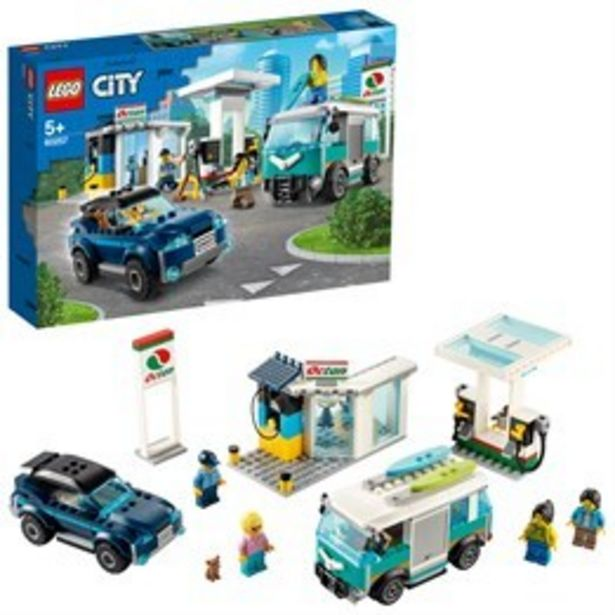 LEGO City Turbo Wheels 60257, Bensinstation för 499 kr