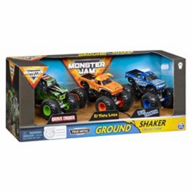 Monster Jam Ground Shaker 3 pack för 399 kr