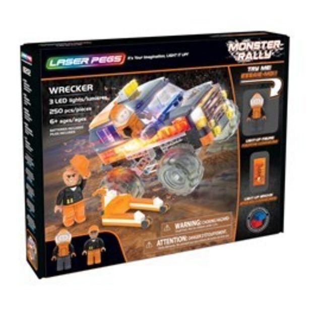 Laser Pegs, Monster Rally Wrecker för 399 kr