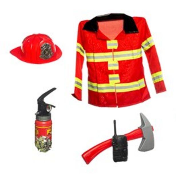 Brandmansdräkt för 299 kr