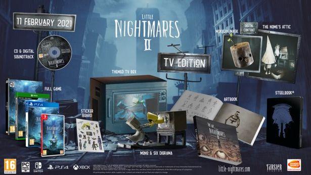 Little Nightmares || TV Edition - Switch för 519 kr