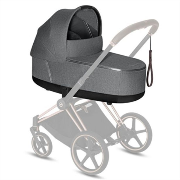 Cybex e-PRIAM - Chrome Brown Komplett Vagn för 17999 kr