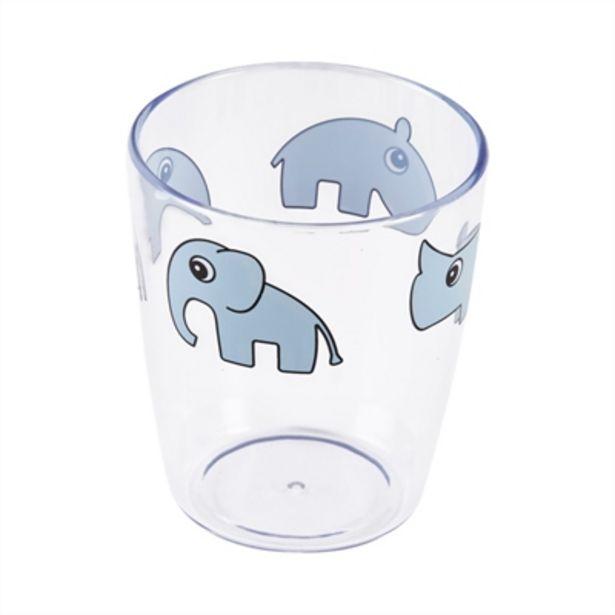 Done By Deer Yummy Mini Glass Deer Friends Blue för 39 kr