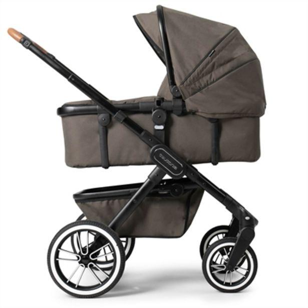 Teutonia TRIO barnvagn med skötväska i Urban Coyote för 7999 kr