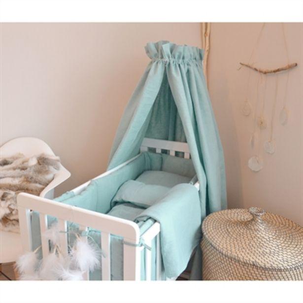BabyCare Excellent Sänghimmel Linne Petrolgrön för 499 kr