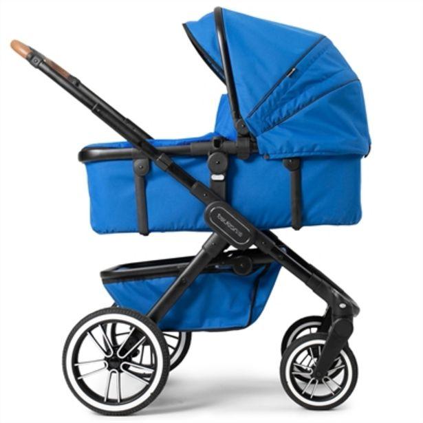Teutonia TRIO barnvagn med skötväska i Urban Blue för 6999 kr