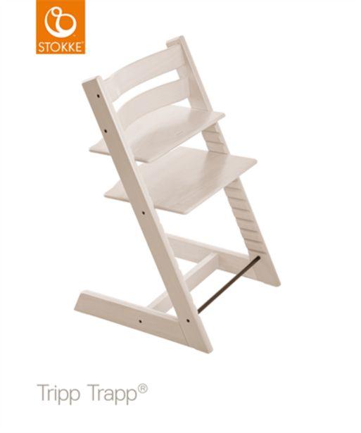 Stokke® Trip Trapp Stol Whitewash för 1999 kr