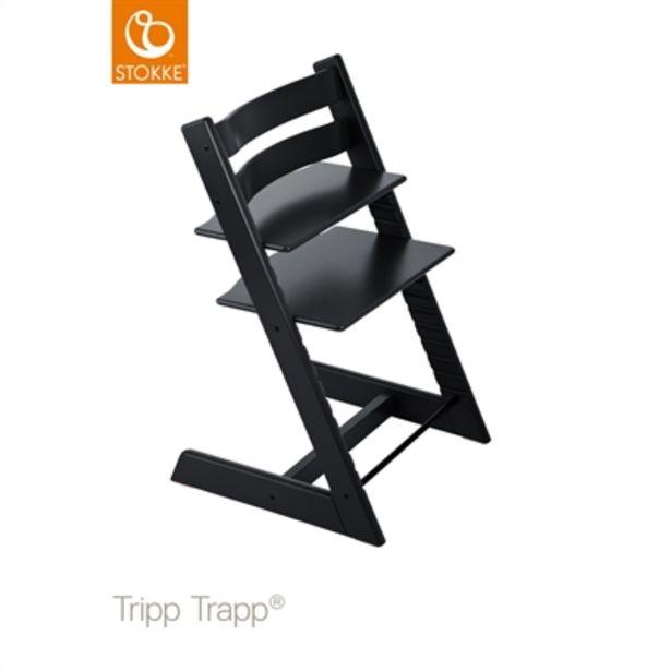 Stokke® Tripp Trapp Stol Svart Inkl Gravering för 1999 kr