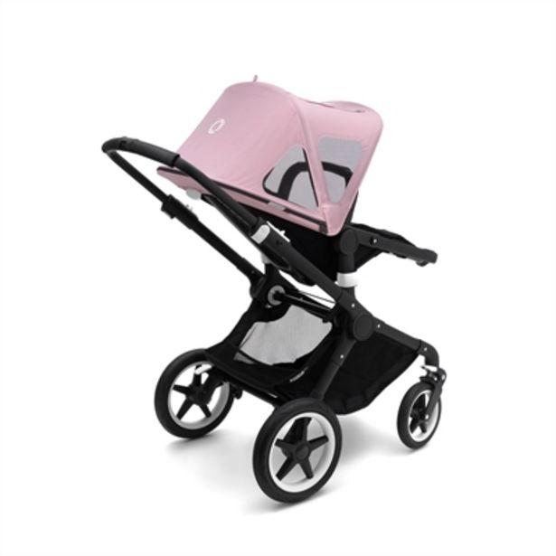 Bugaboo Fox/Cameleon³ Breezy Sun Canopy Soft Pink för 949 kr