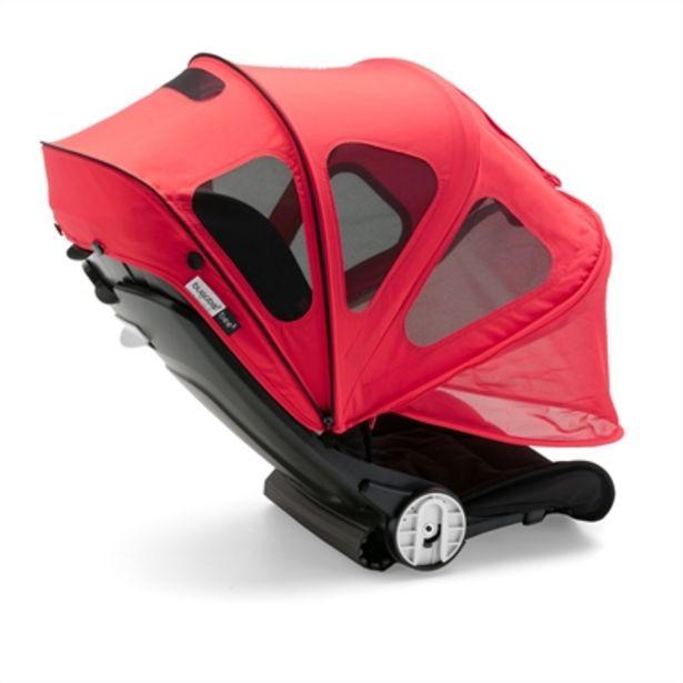 Bugaboo Fox/Cameleon³ Breezy Sun Canopy Neon Red för 949 kr