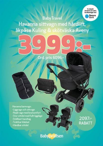 Baby Travel Paket Havanna för 6096 kr