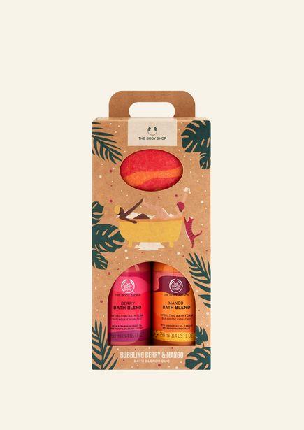 Bubbling Mango & Berry Bath Blends Duo för 90 kr