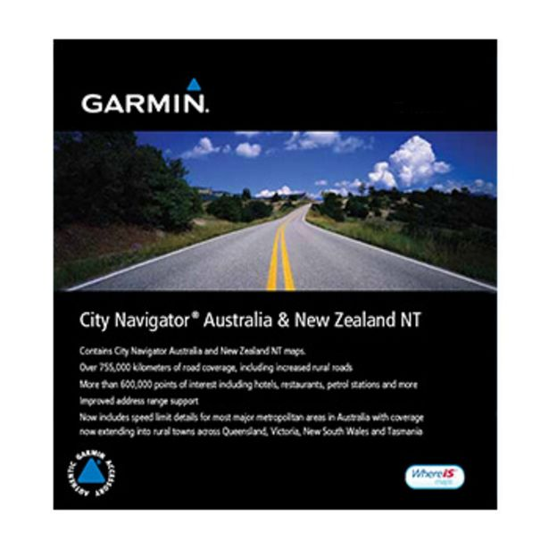 City Navigator karta över Australien och Nya Zeeland - på microSD kort för 299 kr