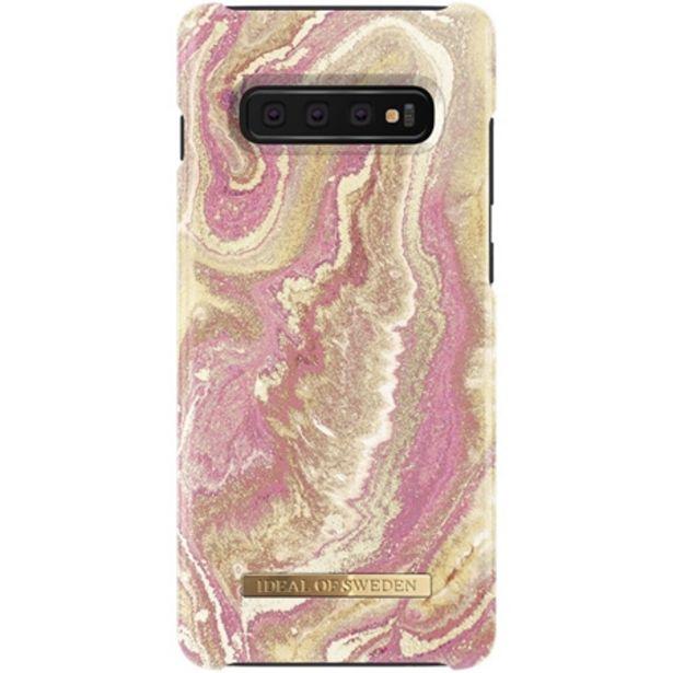 Fashion Case Samsung Galaxy S10+ - Golden Blush Marble för 299 kr