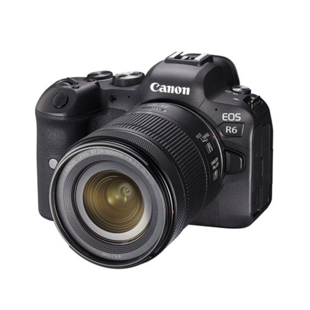 EOS R6 kamerahus + RF 24-105/4-7,1 IS STM för 35490 kr
