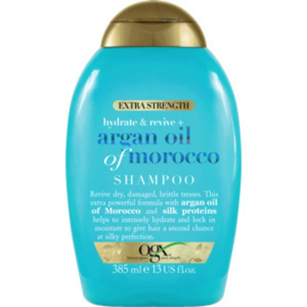 Argan Extra Strength Shampoo, 385ml för 109 kr